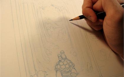 漫画的制作过程