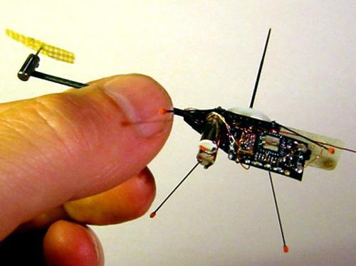 微型飞行器-世界上最小的摇控直升机