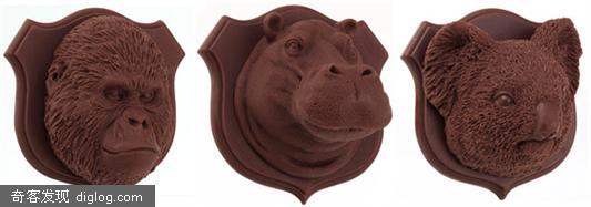 动物挂在墙上的人可以考虑换成把这些巧克力挂在墙上