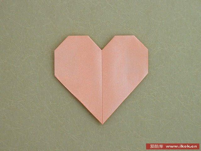 心形折纸心折纸大全 图解心形折纸图解简单心折纸