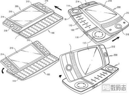 三星最新概念滑盖手机设计图