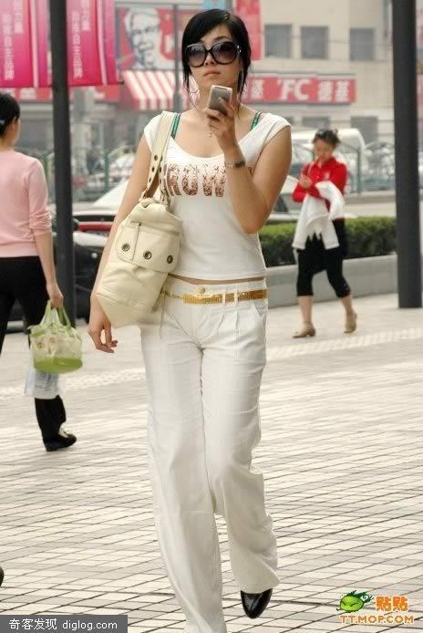 上海夏日美眉随拍 美女街拍~~