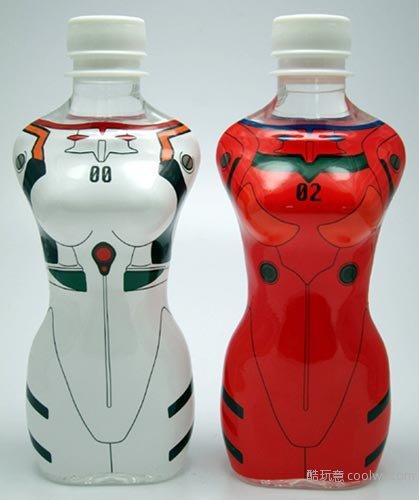 作为原型设计的矿泉水瓶