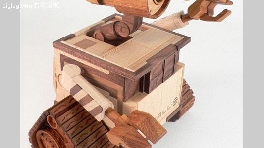 13个酷炫的木制品