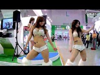 台湾美女的甩奶舞