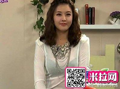 韩国美女主播朴恩智屡着透视装上镜